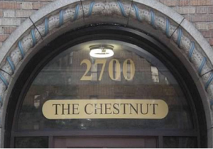 Chestnut Transom
